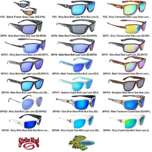 Strike King Sunglasses Polarized SK PLUS Any 21 Frame Style Lens Tint Colors