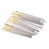 20/30/100Pcs Assorted Metal Needles for Sewing Knitting Yarn Darning Stitching