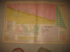ANTIQUE AMELIA PIERCE BATAVIA UNION TOWNSHIP CLERMONT COUNTY OHIO HANDCOLOR MAP