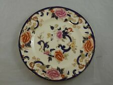 Masons Ironstone Blue Mandalay Breakfast / Luncheon Plate Made In England