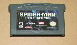 Spider-Man: Battle for New York for Nintendo Game Boy Advance Fast Shipping!