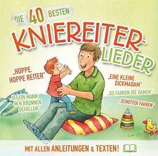 Die 40 Besten Kniereiter-Lieder von Katharina Blume,Christian König CD NEU!