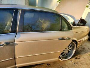 2004-2005 JAGUAR XJ8L VANDEN PLAS LEFT REAR DOOR GOLD