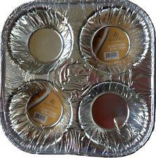 Wilton Catering Sección 4 Bollos Plato (150mm x 150mm x 38mm) 60 Paquete