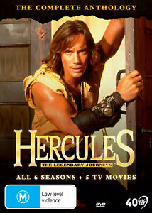HERCULES The Legendary Journeys - Complete Anthology Series + 5 Movies PREORDER