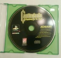 Playstation PS1 Castlevania Symphony of the Night SOTN Black Label Disk Only