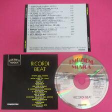 CD Compilation Ricordi beat Emozioni in Musica FORMULA 3 CAMALEONTI no lp*mc(C44
