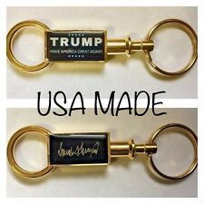 President Donald Trump Keychain w/signature MAGA Valet Keyring FATHERS DAY Gift