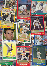 OAKLAND A'S   BASEBALL CARDS 100 + 1990'S TO PRESENT  !  EXCELLENT CONDITION
