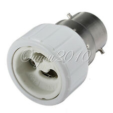 B22 To GU10 base Socket Adapter Adaptor Converter For LED Light Lamp Bulbs New