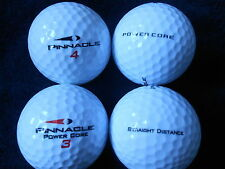 "40 PINNACLE  ""POWER CORE"" - ""RED AND BLACK FLASH"" - Golf Balls  ""PEARL/A"" Grade."