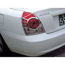 Chrome Tail Light Lamp Cover For 01 06 Hyundai Elantra