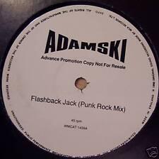 "ADAMSKI ~ Flashback Jack ~ 12"" Single PROMO"