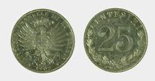 s535_18) Vittorio Emanuele III  (1901-1943) 25 Centesimi 1902 Valore Nickel