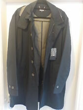 DKNY Clean Zip Mac Raincoat Trench Coat Long Jacket Overcoat RRP £319* SAVE £240