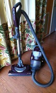 Kenmore 600 Series 22614  Bagless Purple Canister Vacuum Cleaner Refurbished