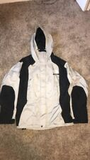 The NORTH FACE Gray Gore-Tex Jacket Parka Hooded Coat Men Size M