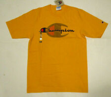 Champion Men's Heritage Tee, New Yellow Sport Life Authentic Athletic Shirt Sz M