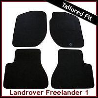 Land Rover Freelander Mk1 1997-2006 Fully Tailored Carpet Car Floor Mats BLACK