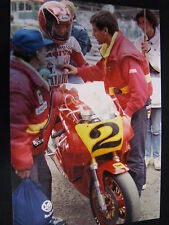 Photo Cagiva GP500 C588 1988 #2 Randy Mamola (AUS) GP Belgium Spa Big