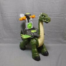 Imaginext Mega Apatosaurus Dinosaur with accessories 15 inch tall walks & sounds