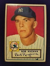 1952 Topps Baseball Card # 85 Bob Kuzava