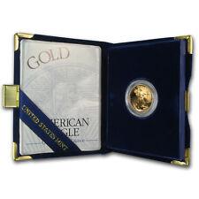 1998-W 1/4 oz Proof Gold American Eagle (w/Box & COA)