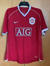 Manchester United Home Football Shirt 2006/07 RONALDO 7 Large L