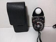 Sekonic Studio Deluxe L-398 Exposure Light Meter w/ Case