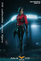 "PWTOYS 1:12 PW2015 Resident Evil Ada Wong Warrior 6"" Female Action Figure Toy"