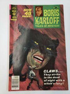 Boris Karloff Tales of Mystery #81 (1978) FN+ 6.5 Gold Key Comics!