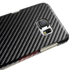 NEW BLACK PREMIUM CARBON FIBER Style 0.6mm Case Cover FOR SAMSUNG Galaxy S7 ONLY
