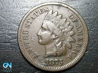1875 Indian Head Cent Penny  --  MAKE US AN OFFER!  #B5717