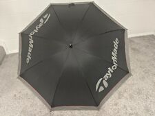 Taylormade Single Canopy Umbrella - Black/Silver - Golf Umbrella