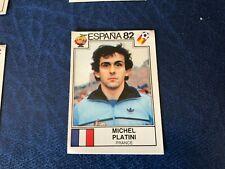 ESPANA 82 PANINI 1982 FIGURINA N 286 CON VELINA ORIGINALE