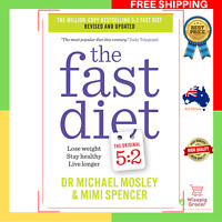 NEW The Fast Diet Original 5:2 Intermittent Fasting Revised Updated Book Recipes