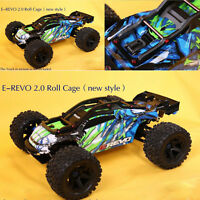 RC Car Frame Body Shell Roll Cage Wheelie Bar for 1/10 Traxxas E-REVO E-REVO 2.0