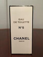 HUGE New/Sealed in Box Vintage CHANEL No 5 Eau de Toilette 16.9 oz/500mL Perfume