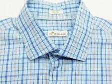 PETER MILLAR Plaid Check Woven Long Sleeve Shirt XL