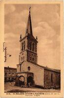 CPA   St-Hilaire-Cusson-la-Valmite (Loire)alt 900 m-Cure d'air -L'Église(580257)