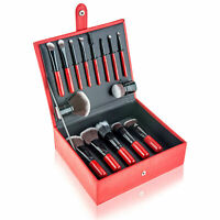 SHANY Vanity Vox - 15 Pc Makeup Brush Set with Stylish Storage Box and Stand