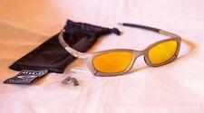 Rare Oakley MAGNESIUM  Mag Four S  Plasma/Fire Iridium Sunglasses Mint  w/o box