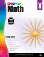 Spectrum Math, Grade 8, Paperback by Spectrum (COR), Brand New, Free shipping...