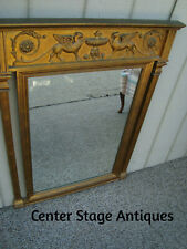 60429 Large Gold Gryphon Mirror 32w x 44h
