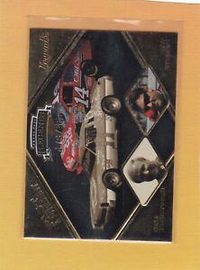 2009 PRESS PASS PAST & PRESENT CALE YARBOROUGH TONY STEWART #12 NMMT/MINT *64586