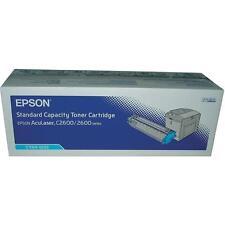 d'origine Epson Cartouche d'encre C13S050232 0232 CYAN POUR C2600 A-Ware