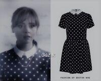 River Island Cosplay  Polka Dot Spot Spotted Celebrity Dress - Size 12