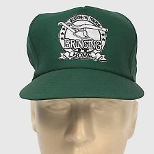 NWOT VTG JOHN DEERE PLOW BASEBALL HAT CAP LID Keeping the Promise Green Farmers