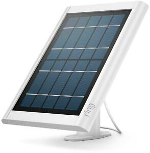 Ring Solar Panel Charger White Compatible with Spotlight Cam Battery 8ASPS7-WEU0