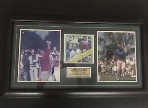 Arnold Palmer Signed Certification No A 42082 Framed NatioGolf Championships